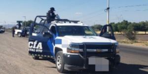 Asesinan a 5 policías en Guanajuato