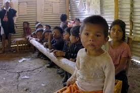 Detectan red de explotación de niños indígenas en Chiapas
