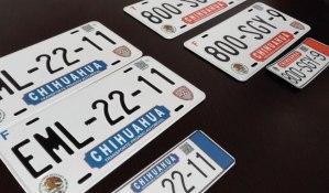 """Sigue el """"Gato encerrado"""" en la licitación para placas vehiculares en Chihuahua"""