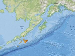 Alaska registra terremoto de 7.8
