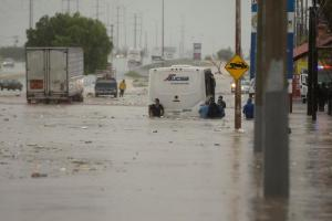 Tormenta tropical Hanna, deja muertos y desaparecidos a su paso