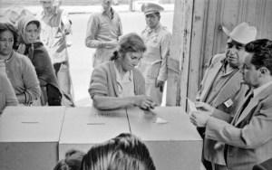 Hoy se cumplen 65 años del derecho de las mujeres a votar