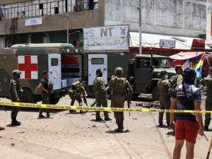 Atentado en Filipinas deja hasta el momento, 14 muertos y 75 heridos