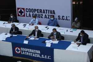 Cooperativa Cruz Azul, cambia de administración