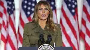 La primera dama de Estados Unidos, llama a votar por Trump