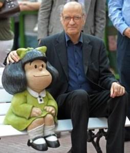 Falleció «Quino», el creador de Mafalda