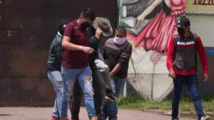 Se registra violencia en escuela normal de Michoacán. Hay 8 heridos