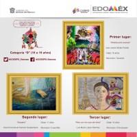 Premian en Edomex a ganadores de concurso de dibujo