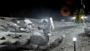 Ocho países firman acuerdo para explorar la Luna