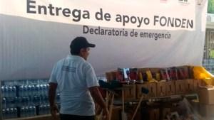 Con la temporada de huracanes como marco, diputados de Morena desaparecen el Fonden