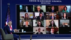 Biden anuncia equipo científico para enfrentar al COVID-19