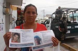 Comando secuestra a activista en la búsqueda de desaparecidos