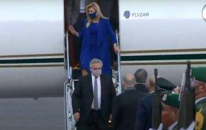 El presidente argentino ya está en México