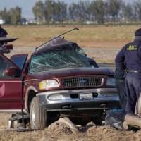 Mexicanos que murieron en accidente en California, iban en grupo de migrantes ilegales