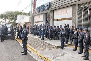 Policía de Oaxaca, en paro por malos tratos y corrupción. Exigen salida de altos mandos