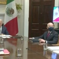 Relación México-EU debe basarse en la autonomía, dice AMLO a Biden en reunión virtual
