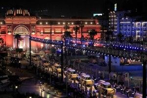Majestuoso desfile de momias en Egipto
