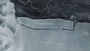 Calentamiento global borra del mapa iceberd más grande del mundo
