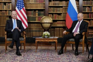 Se reunieron Biden y Putin en Suiza