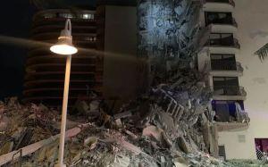 Colapsa edificio en Miami, hay decenas de desaparecidos