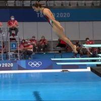 Clavado fallido deja fuera de Tokio a deportista mexicana