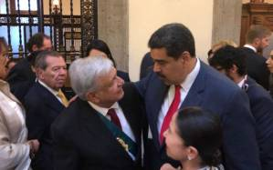 «México nos ha recibido como hijos», dice Maduro al regresar a Venezuela