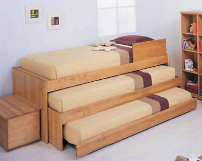 sofa with pull out bed philippines bedroom sofas ideas 16 extraordinarias camas para familias grandes y espacios ...