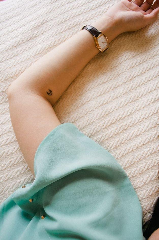 20 Bellos Tatuajes Minimalistas Geométricos Y Lineales