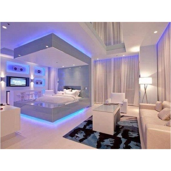 20 Ideas para decorar tu cuarto con luces de nen