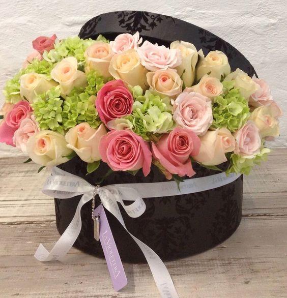 Caja de flores El regalo ideal para un da especial