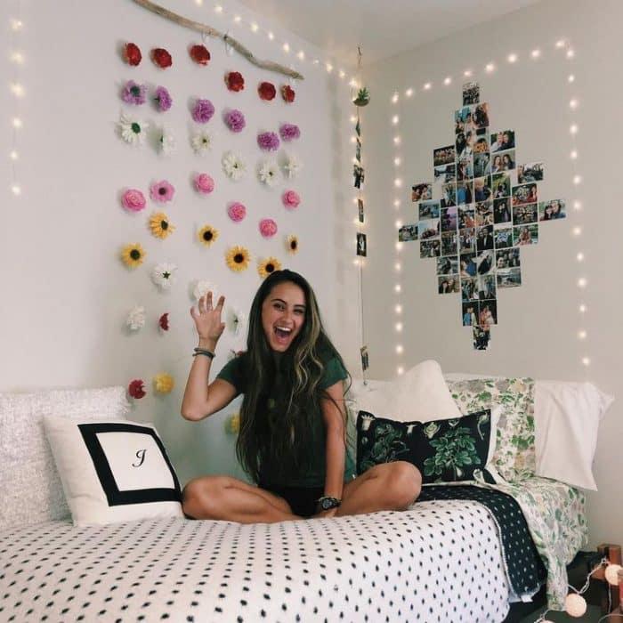 33 Ideas para Collage de Fotos para Decorar tu Cuarto