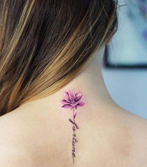 Tatuajes Mujeres Espalda Frases