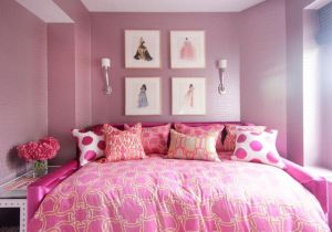glam bedroom bedrooms walls teen glamorous adolescentes rooms rosa dream habitaciones chicas decorpad princess contemporary daybed tufted feature decoratrend