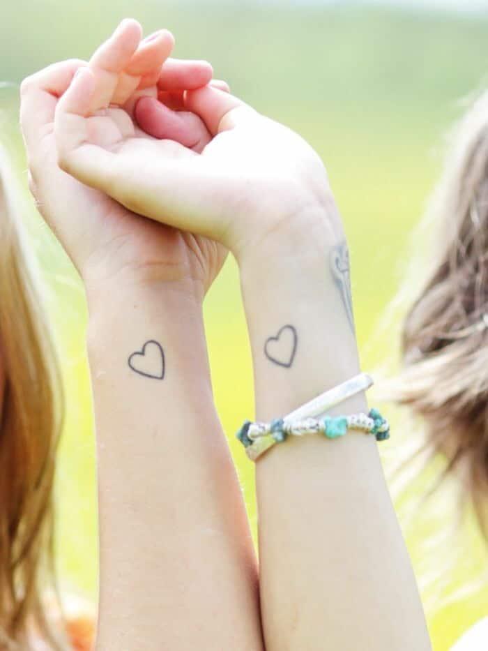 Tatuajes Pequenos Tatuajes De Corazones Para Hombres