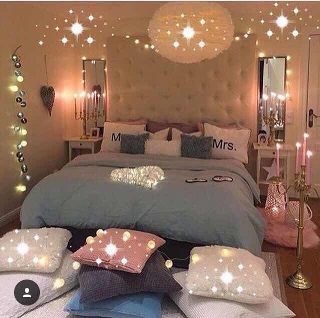 El dormitorio de chicas adolescentes manualidades t