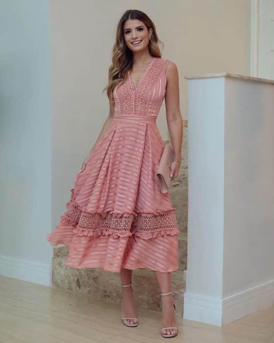 31 Vestidos Midi de Moda para lucir Elegante y con Estilo