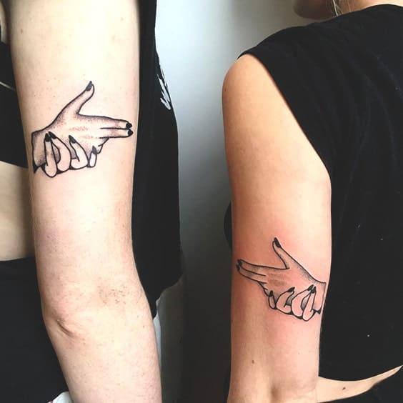 47 Tatuajes Para Mejores Amigas Que Desearán Tener 2019