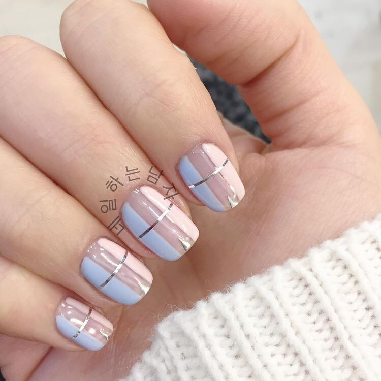 Diseños De Uñas Gelish Color Blanco Decoración De Uñas