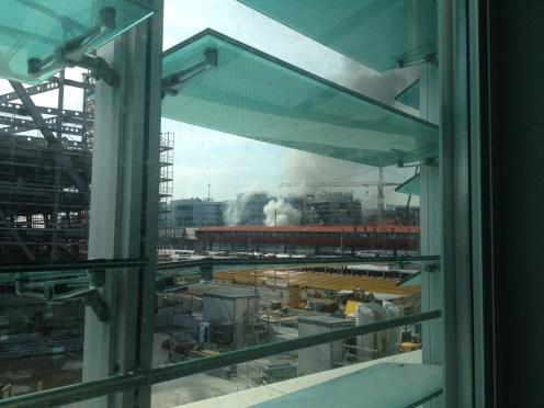 Incendio Ginebra Maison de la Paix Maisam Alahmed