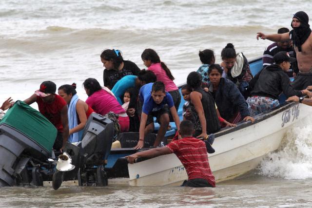 deportados venezolanos