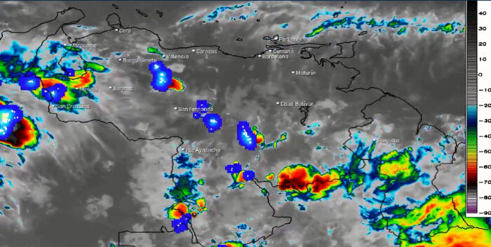 Gran parte del país se mantendrá parcialmente nublado