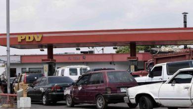 colas de gasolina