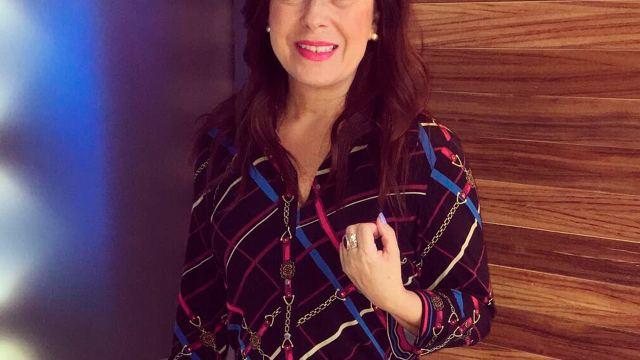 Raquel Mendez es titular del clima en Al Aire con Paola de Noticieros Televisa