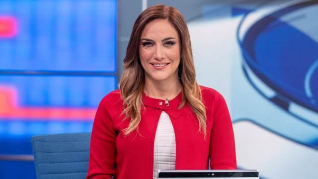 Danielle Dithurbide es titular del noticiero Despierta en Noticieros Televisa