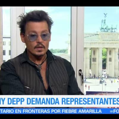 #LoEspectaculardeME: Johnny Depp demanda a representantes