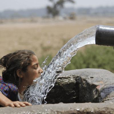 India enfrenta temperaturas de hasta 50 grados y sequía