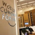 Logo del Foro Económico Mundial (WEF, por sus siglas en inglés) (AP)