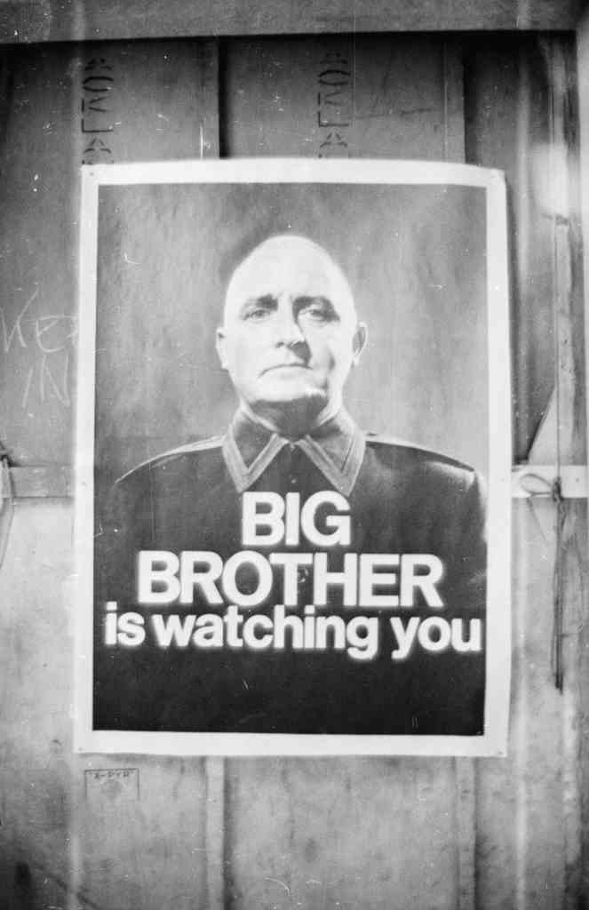 Big Brother ys watching you