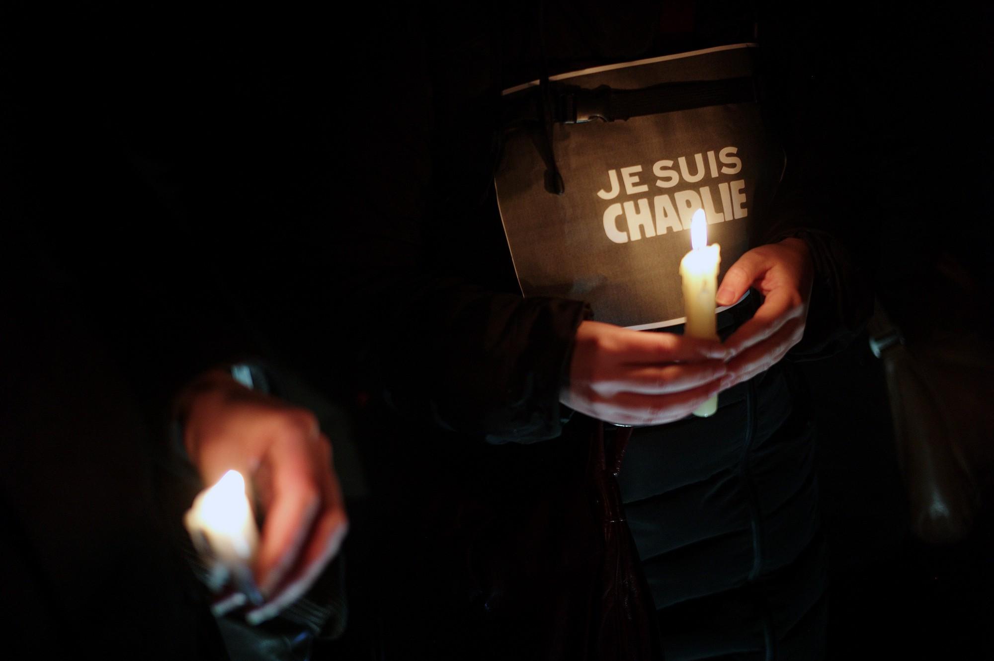 Charlie Hebdo. Je Suis Charlie.