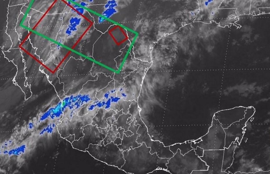 Prevén temperaturas bajas en zonas serranas de Sonora, San Luis Potosí, Puebla, Tlaxcala y Edomex